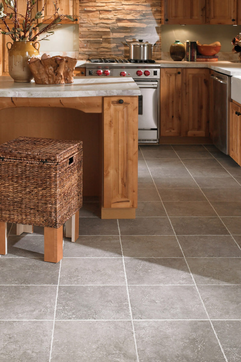 Photo of ceramic tile flooring