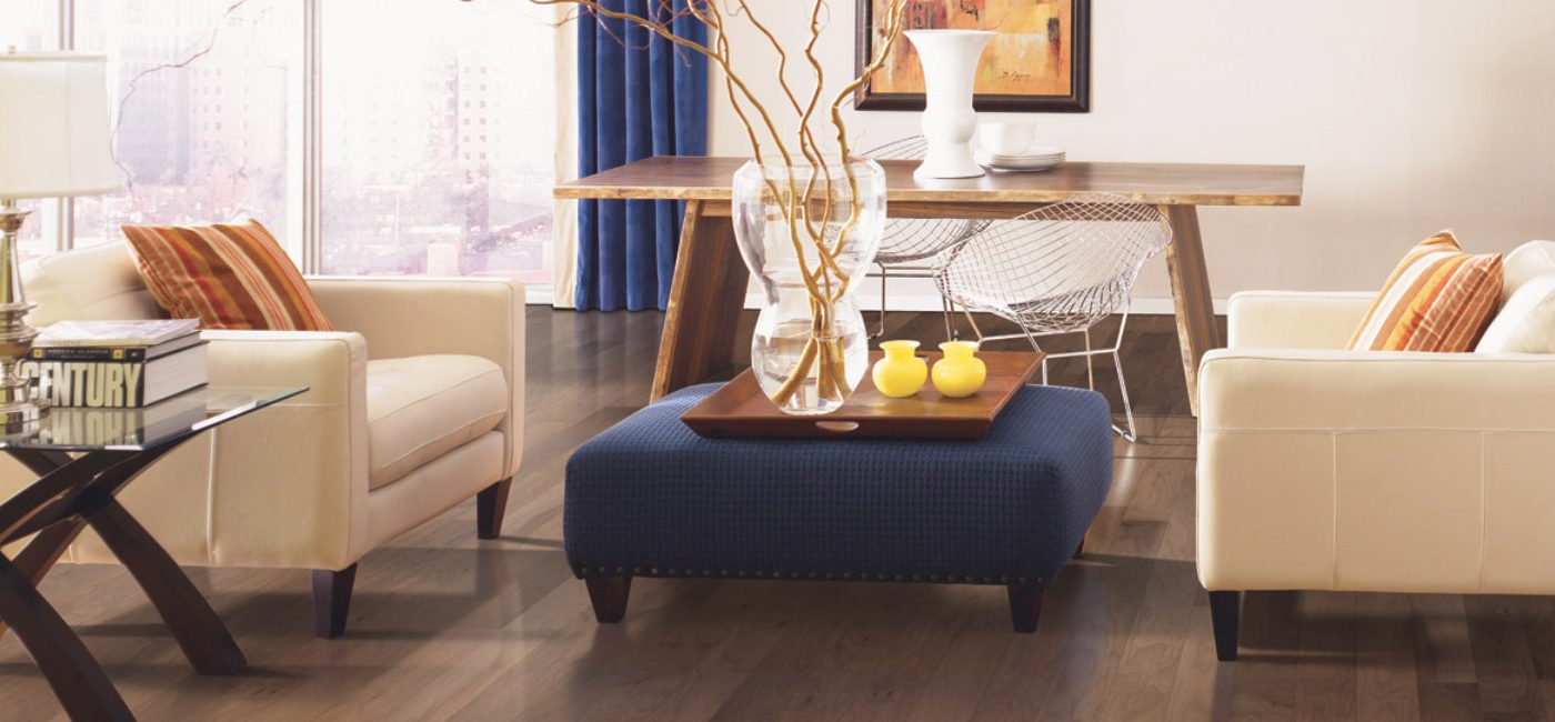 Photo of hardwood flooring