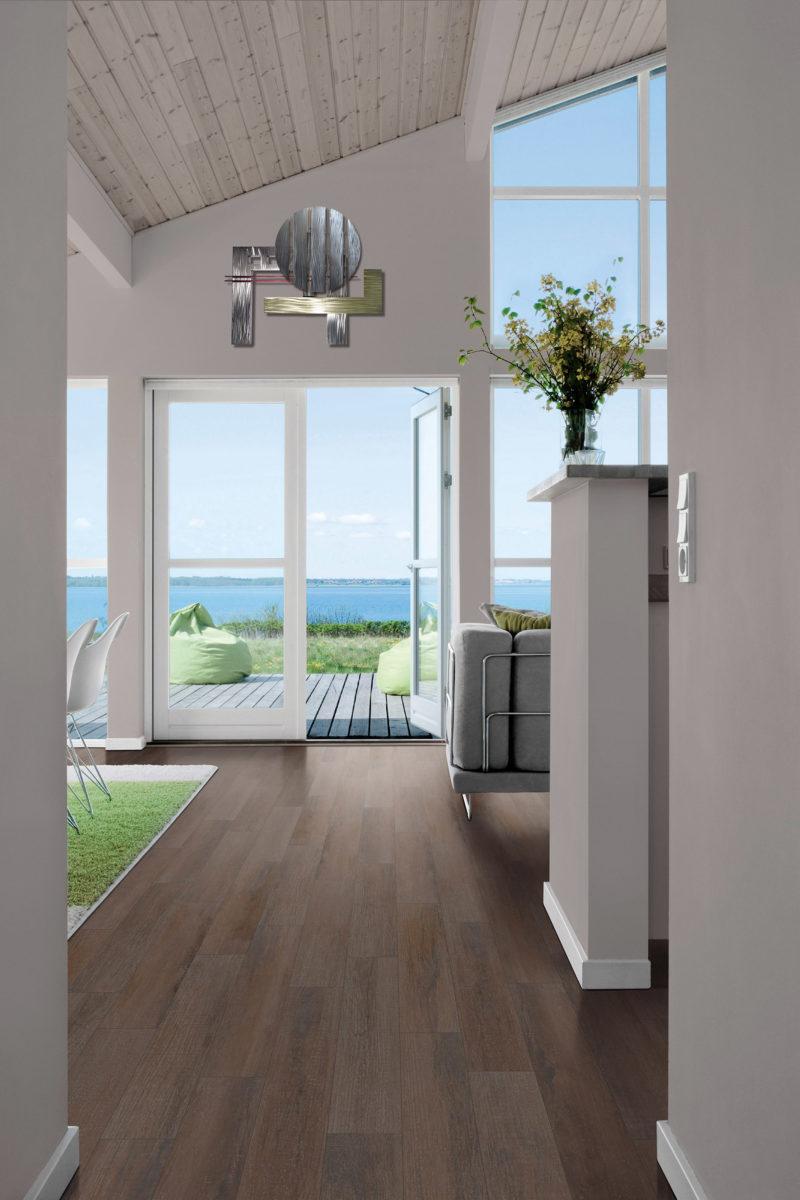 Photo of laminate flooring