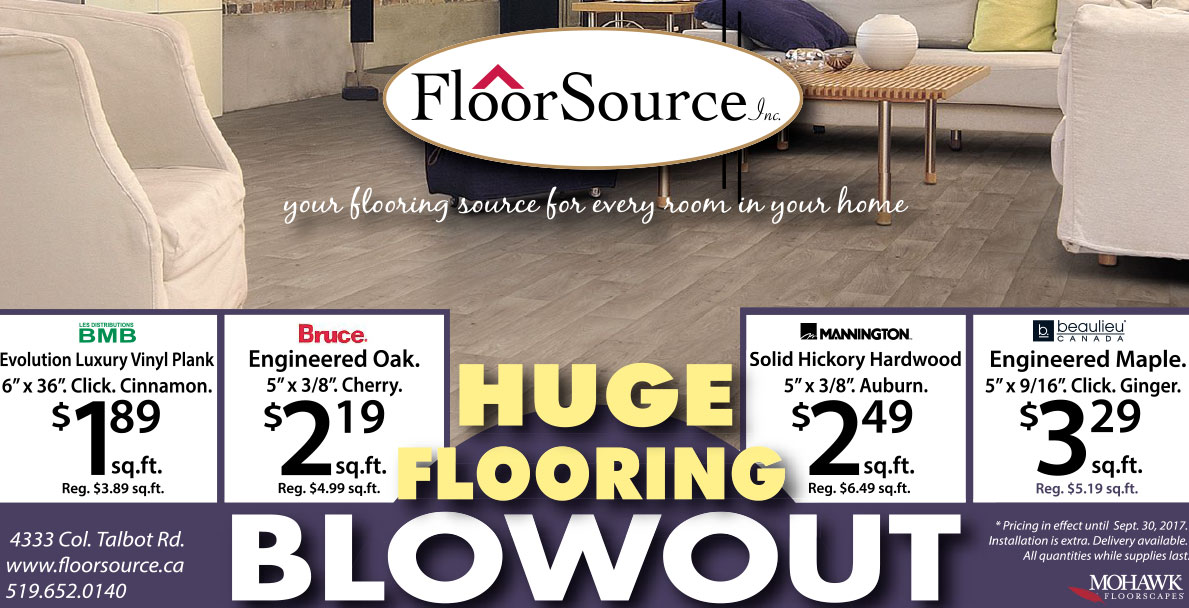 Flooring Blowout Sale graphic