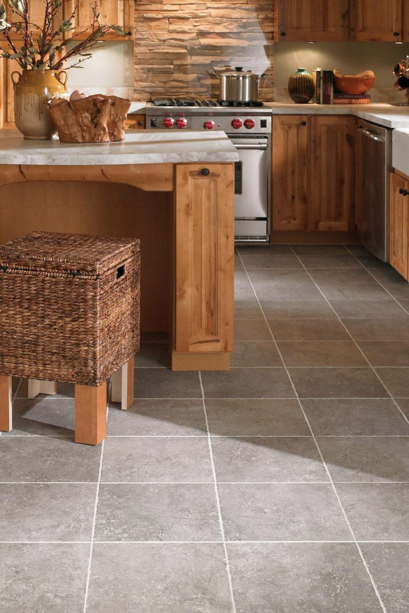 Photo of ceramic tile flooring