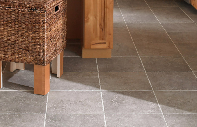 Photo of tile flooring